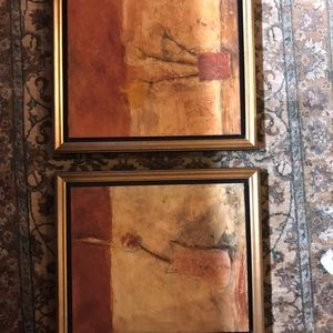 Wax 2 Paintings from Denison Gallery set